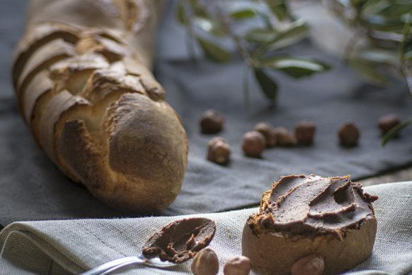 crema cioccolato e olio extravergine di oliva